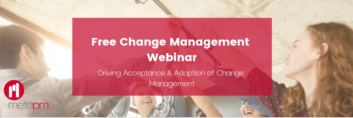 free change management webinar